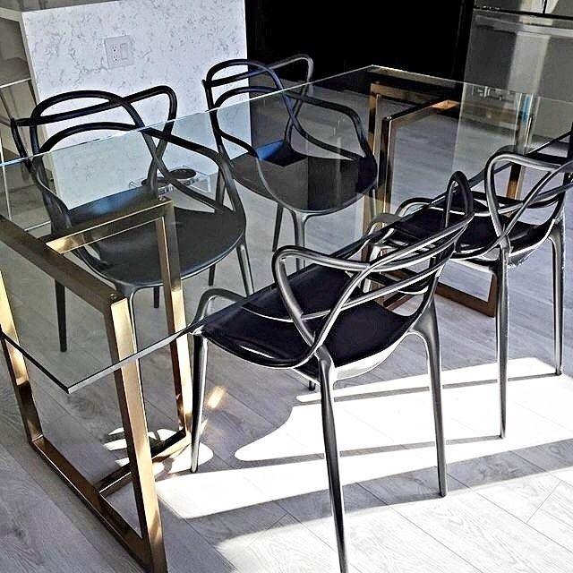 Silverado brass 72 rectangular dining table Dining room
