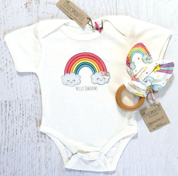 Organic Baby Clothes Certified Organic Cotton Bodysuit Teething