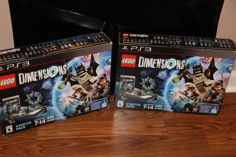 New Lego Games For Ps3 : Brand new lego dimensions ps starter pack batman kid games