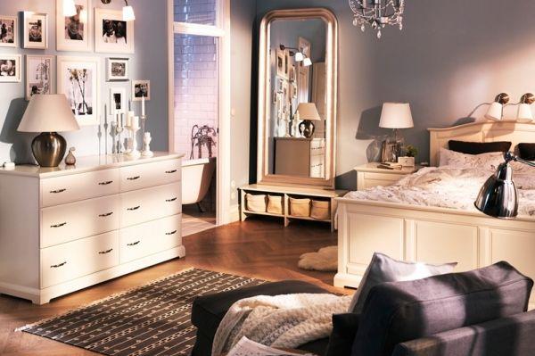 teenager zimmer weiße kommode und brauner, gemusterter läufer, Schlafzimmer entwurf