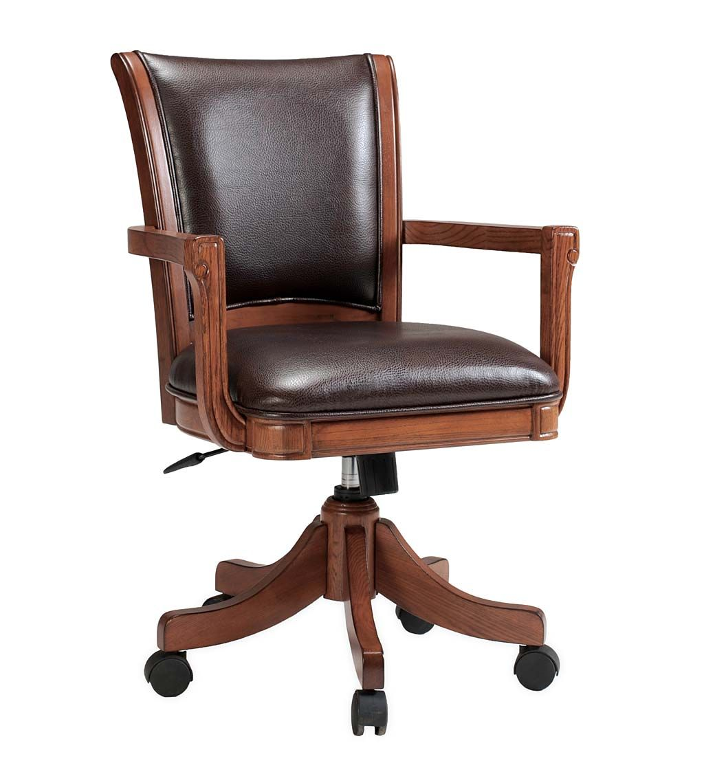 Braswell adjustable height chair with 360 swivel in 2020