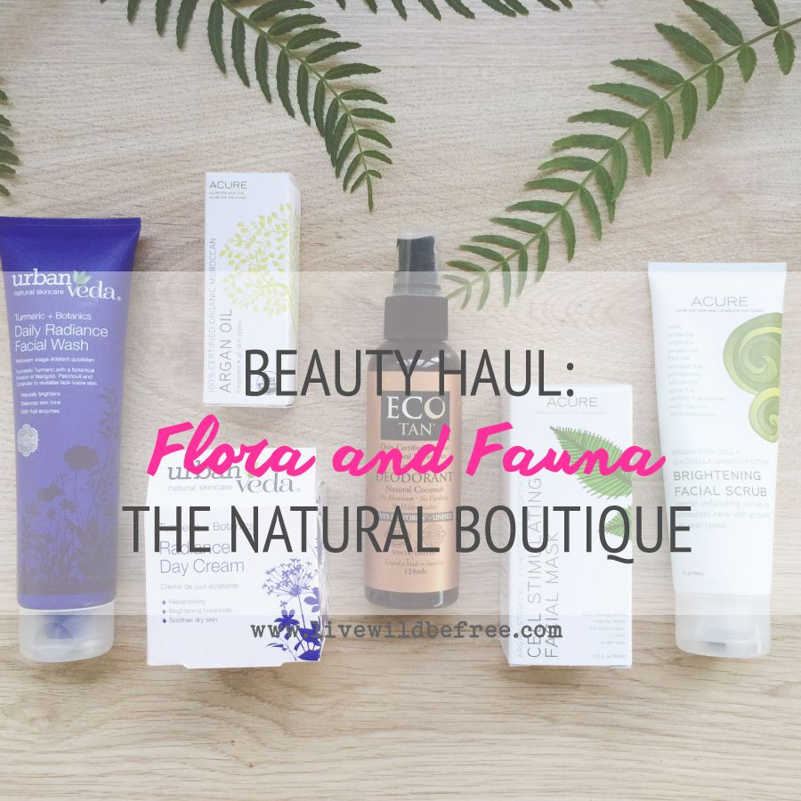 Flora And Fauna The Natural Boutique