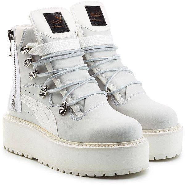 by Leather Platform Fenty Puma Rihanna Ankle Boots€250 x D29IYWEH