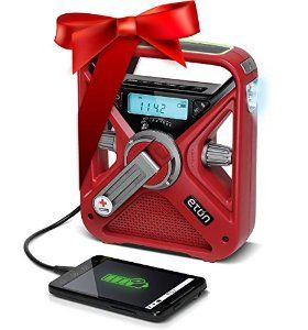 Amazon.com: American Red Cross FRX3 Hand Crank NOAA AM/FM Weather Alert Radio with Smartphone Charger: Electronics
