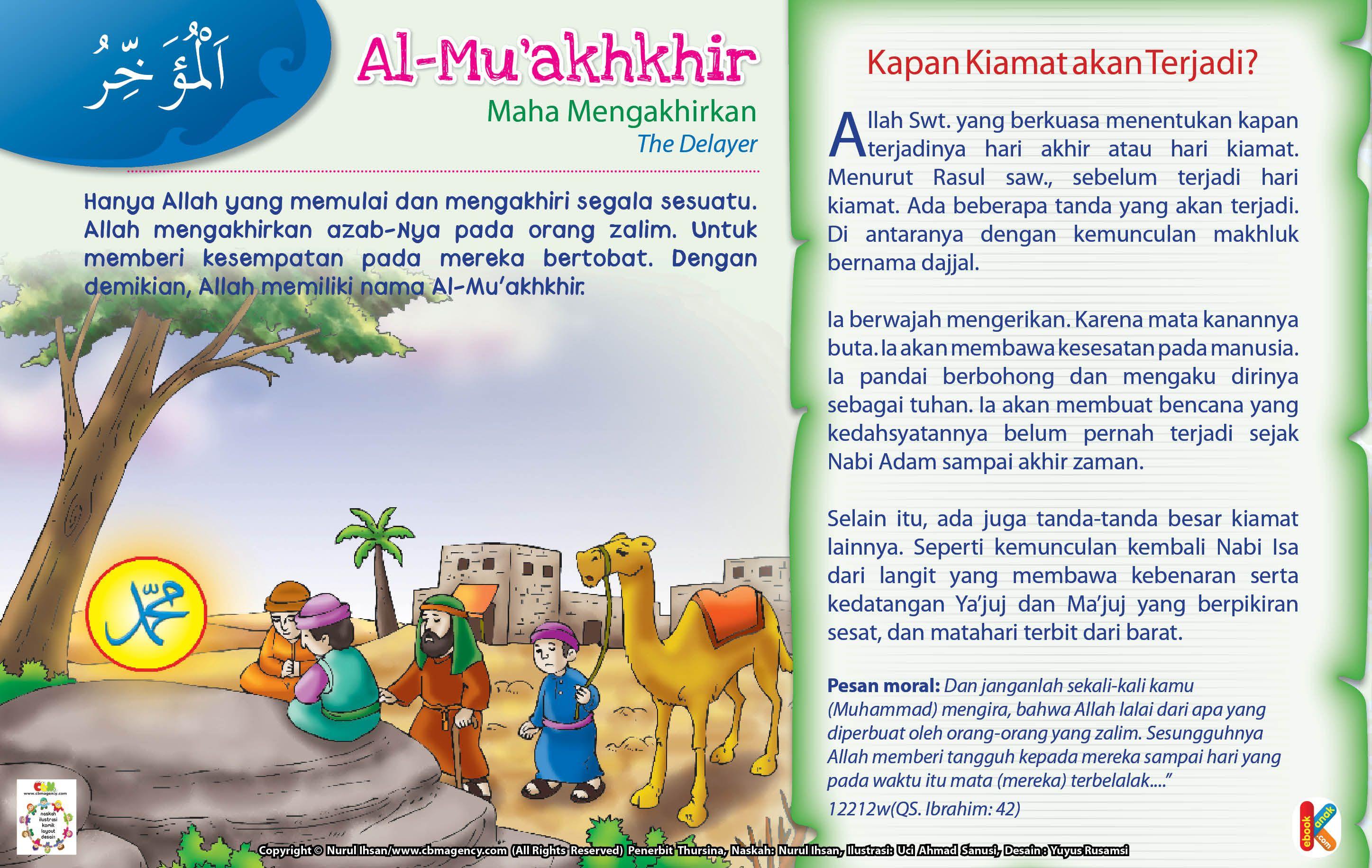 Kisah Asma'ul Husna AlMu'akhkhir (Dengan gambar) Anak
