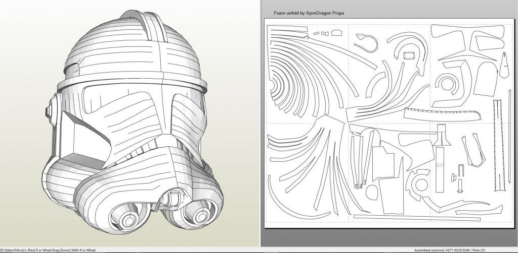 Papercraft pdo file template for star wars clone trooper phase papercraft pdo file template for star wars clone trooper phase 2 helmet foam pronofoot35fo Image collections