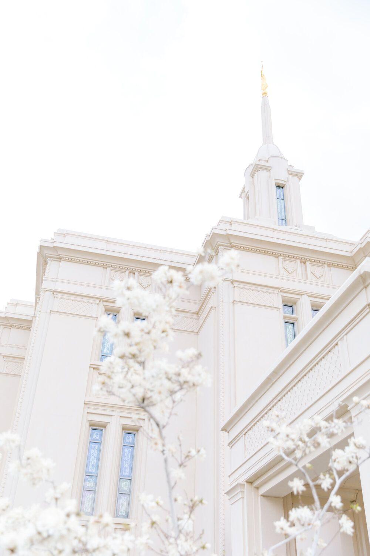 Susanna + Nick Bridals | Payson Utah Temple | Clarity Lane