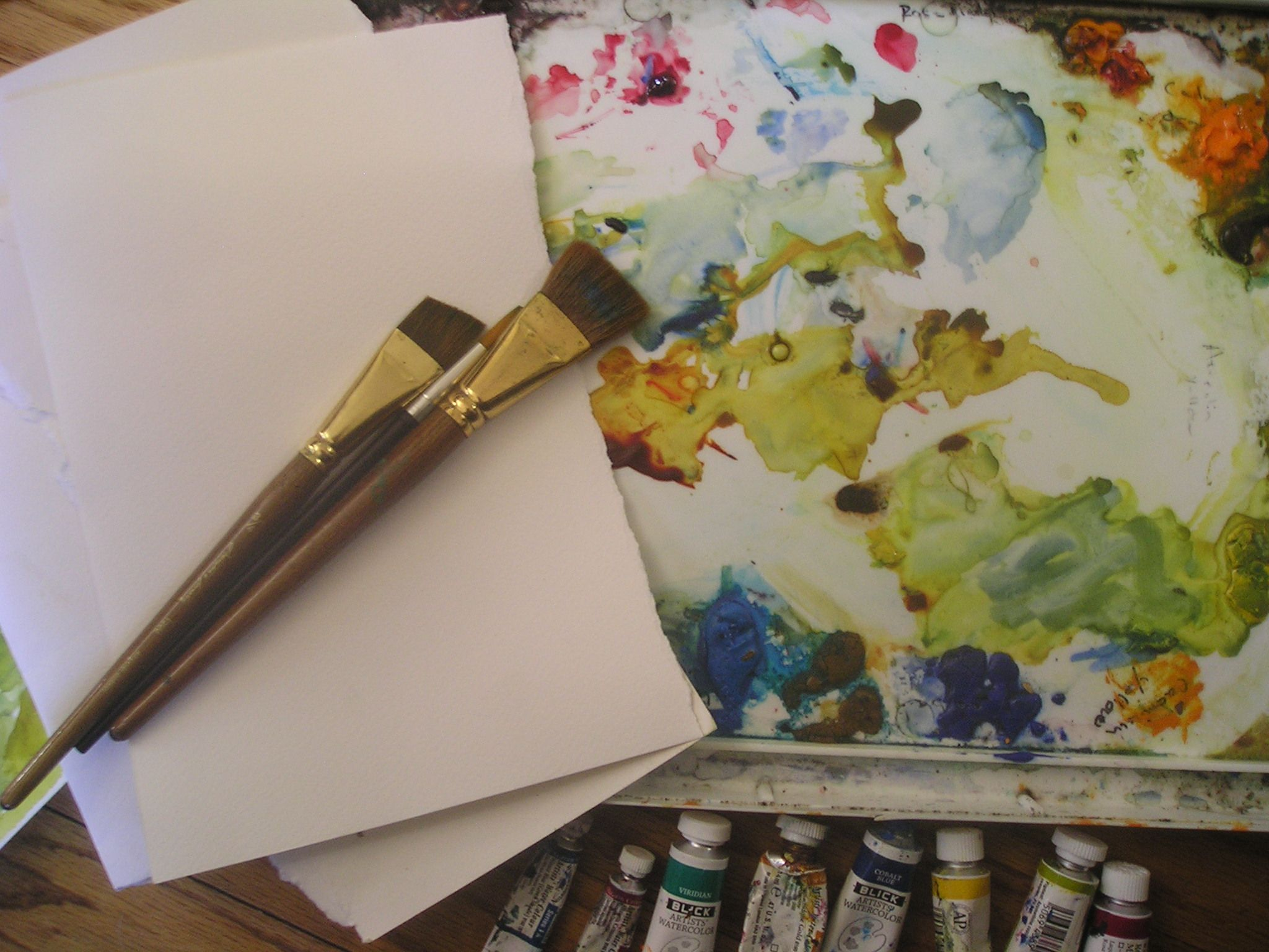 How To Use A Limited Palette To Make Luminous Watercolor Paintings
