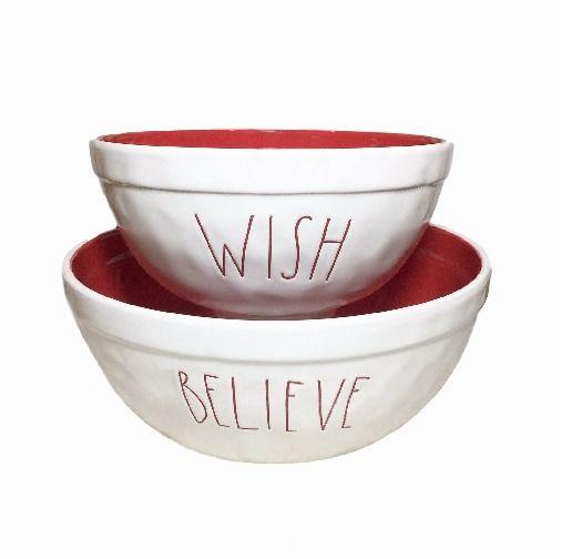 Rae Dunn Christmas Bowls.Rae Dunn Christmas Nesting Bowl Set Rae Dunn For Sale