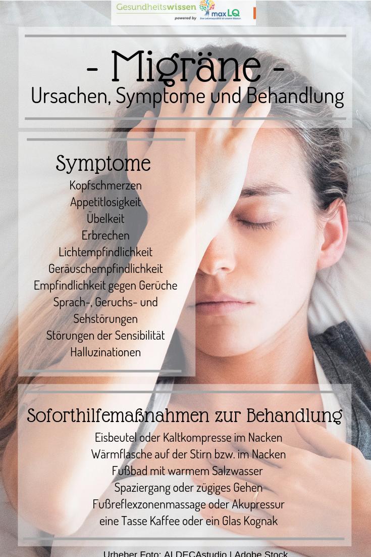 Migräne: Definition, Ursachen, Symptome, Maßnahmen zur Soforthilfe und Behandlungsmöglichkeiten #skintreatments
