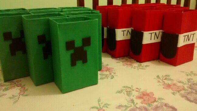 Lembrancinhas Minecraft