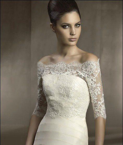 Chaquetas y chales de boda on AliExpress.com from $19.79 | novias 4 ...