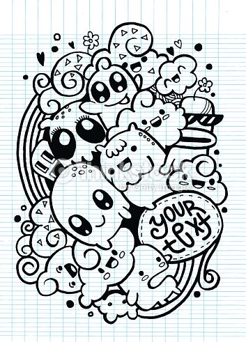 Imagen relacionada | Drawings* ^-^! | Pinterest | Doodles, Kawaii ...