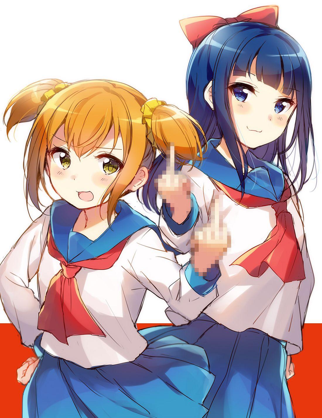 Pop Team Epic Anime
