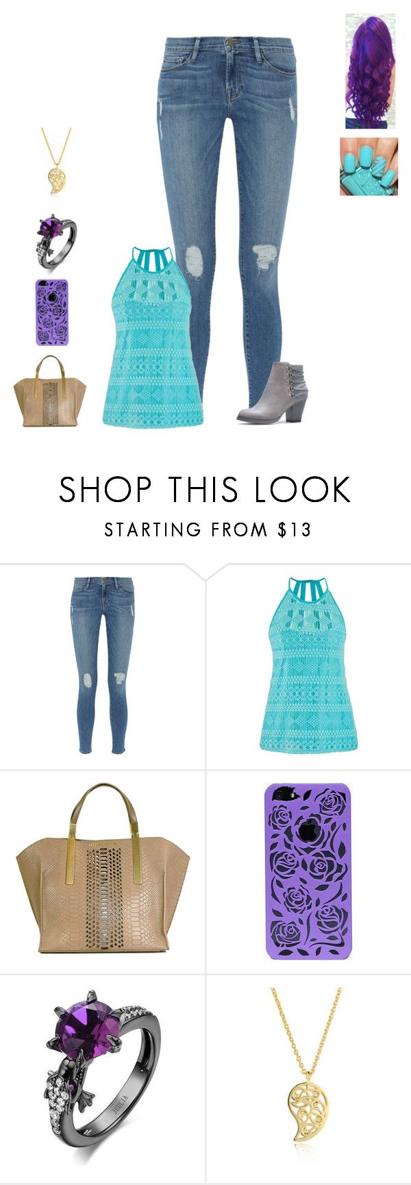 """""""Sans titre #1439"""" by harrystylesandliampayne ❤ liked on Polyvore featuring Frame, maurices, Z Spoke and Sonal Bhaskaran"""