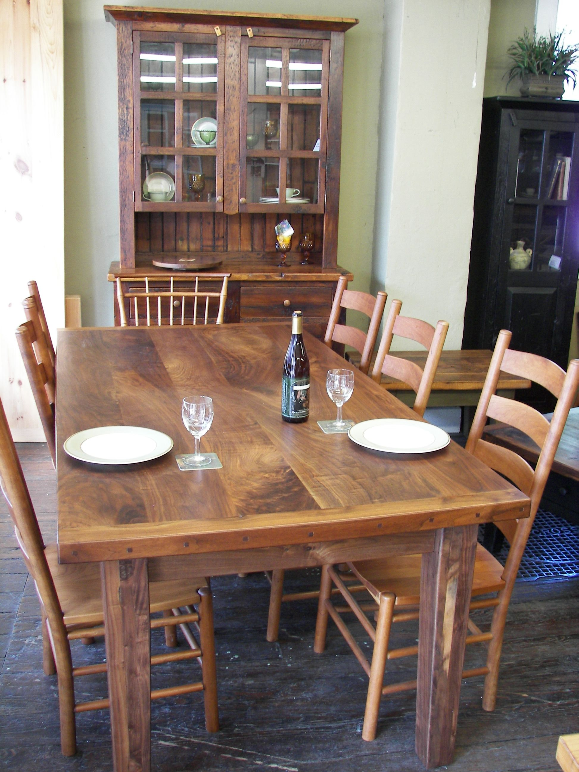 Black walnut has beautiful grain patterns farm table  : 50ab96393f4886ba66fbd4437d1c3934 from www.pinterest.com size 1944 x 2592 jpeg 1117kB