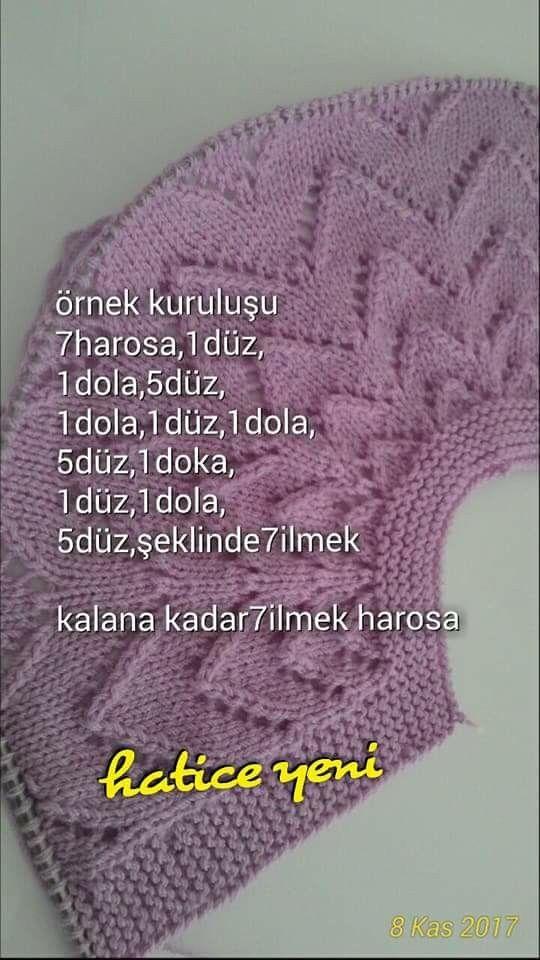 Pin de Hamiyet Türkmen en hırka | Pinterest | Bebe, Tejido y Ropones