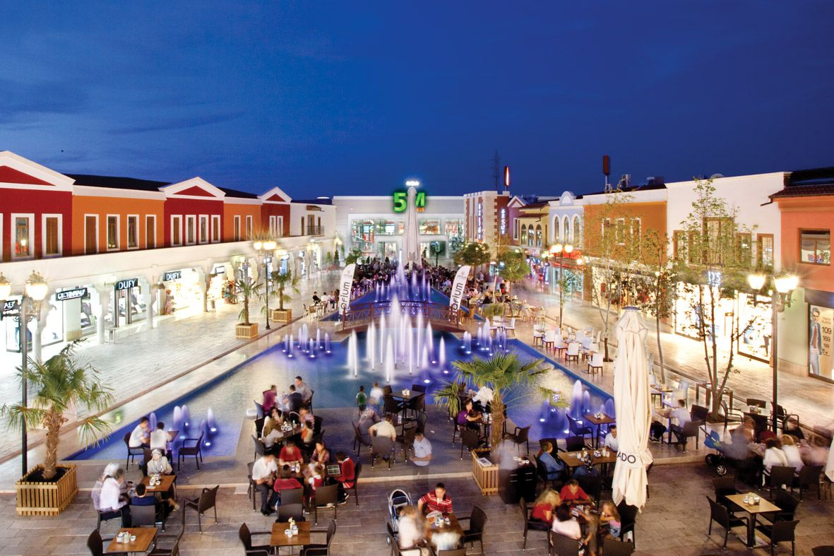 Afium is the biggest open air shopping center of afyon it