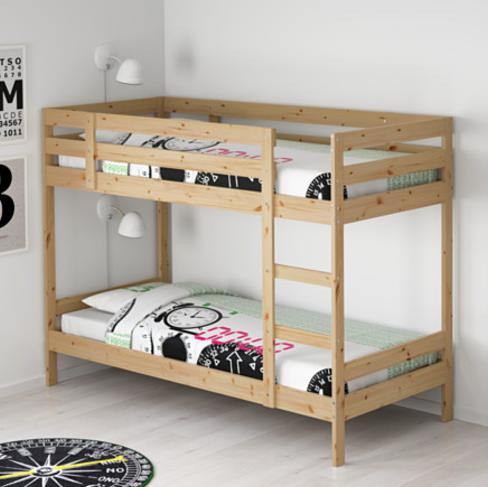 MYDAL Estructura de litera, pino IKEA Literas ikea