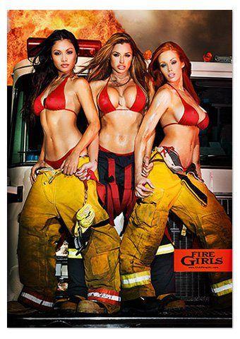 Sexy firefighter women