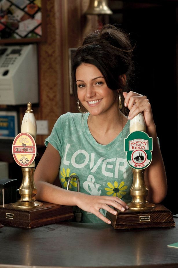 Michelle Keegan is best known for her role as Tina in Coronation Street
