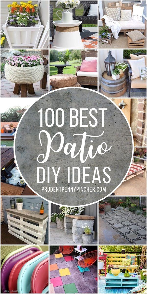 100 Best Diy Outdoor Patio Ideas In 2020 Diy Patio Outdoor Patio Diy Diy Outdoor