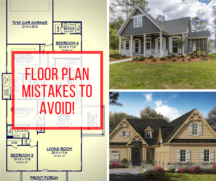7 Floor Plan Mistakes To Avoid In Your New Home Design Home Building Tips Building A House Build Your Own House