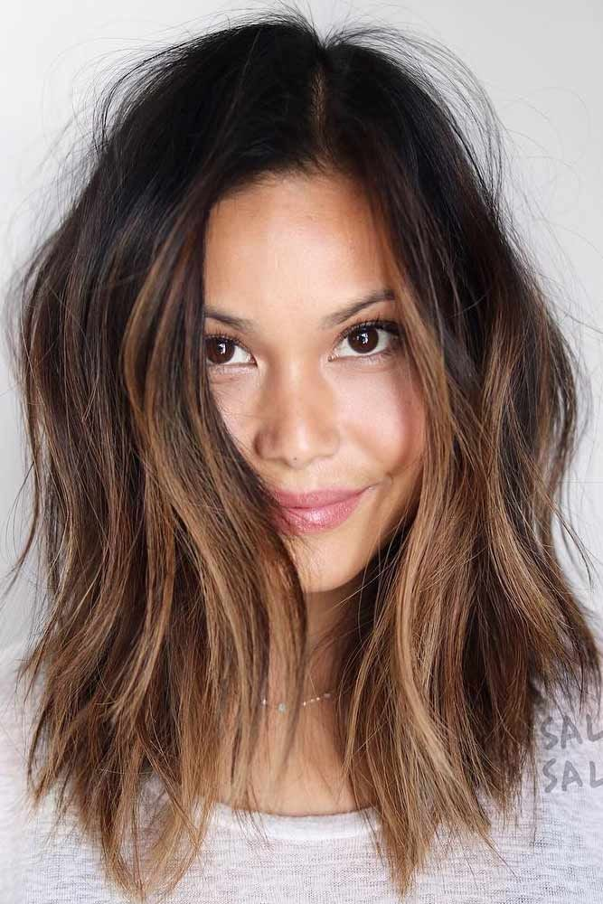18 Medium Length Hairstyles for Thick Hair There a