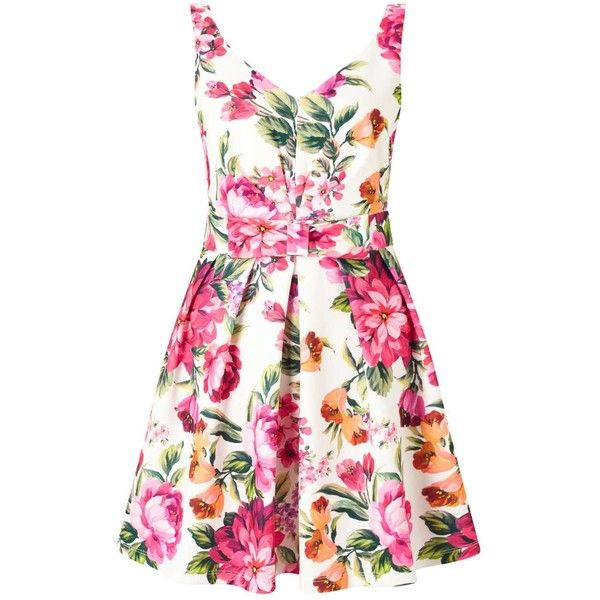 Miss Selfridge PETITE Floral Prom Dress (310 PEN) ❤ liked on ...