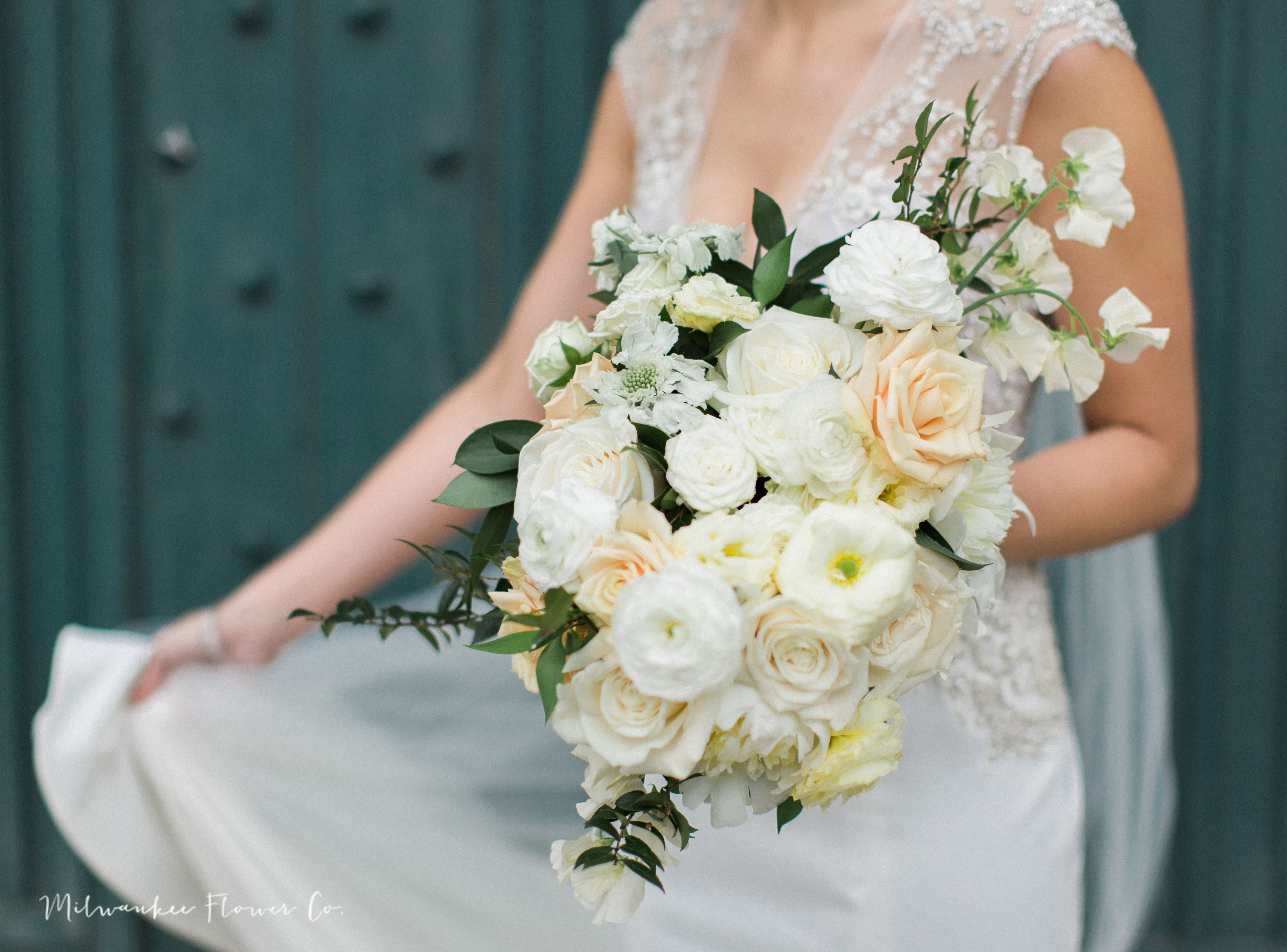 The Pfister Hotel Bridal Bouquet Designed By Milwaukee Flower