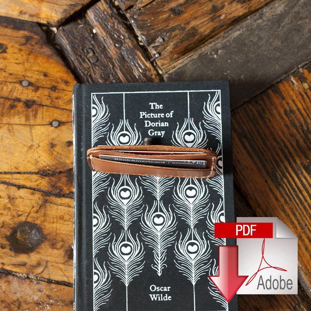 Leather Card Holder (3-Pocket) Digital Template (8.5 x 11)