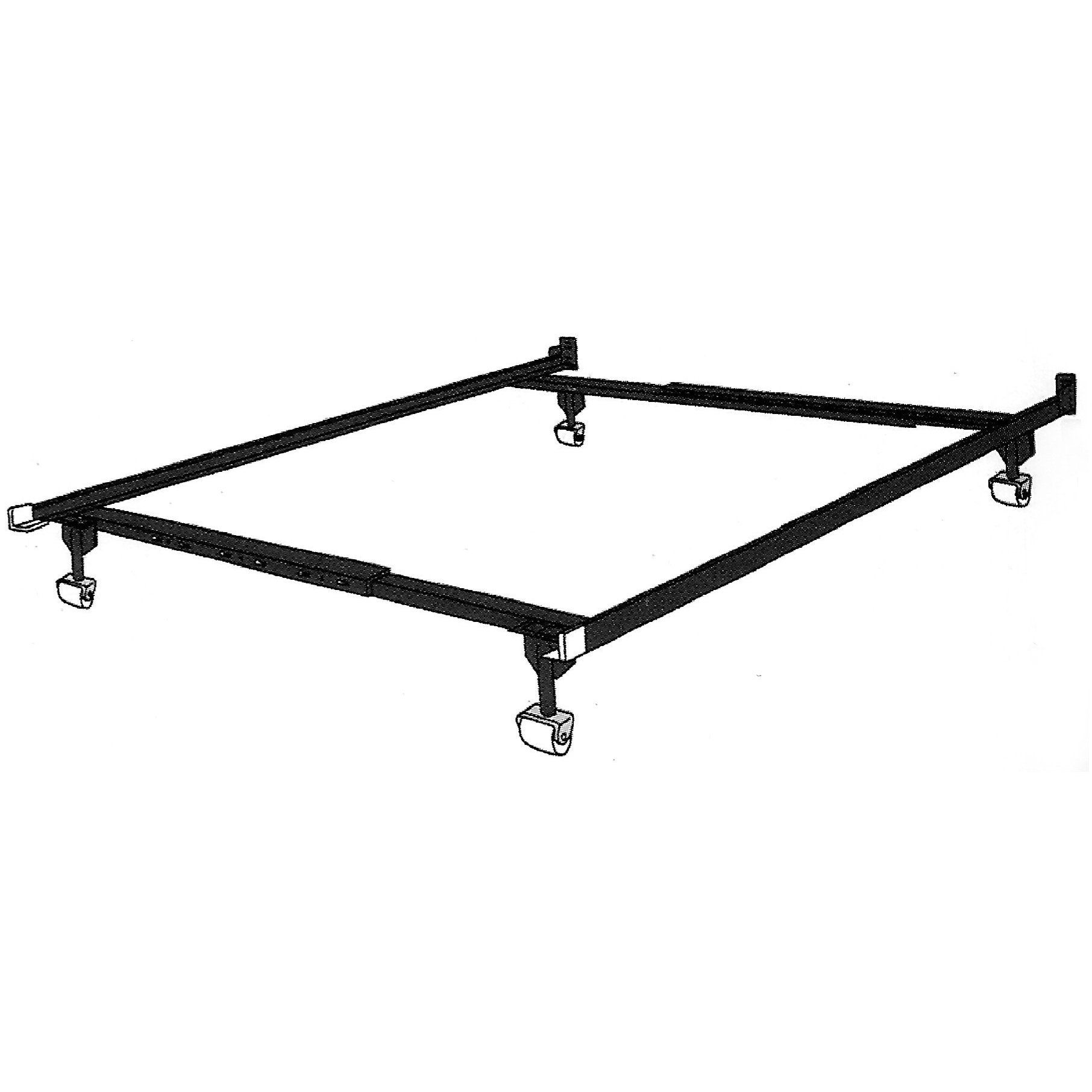 R.H.F. Metal Twin full queen Adjustable Bed Frame , Attach