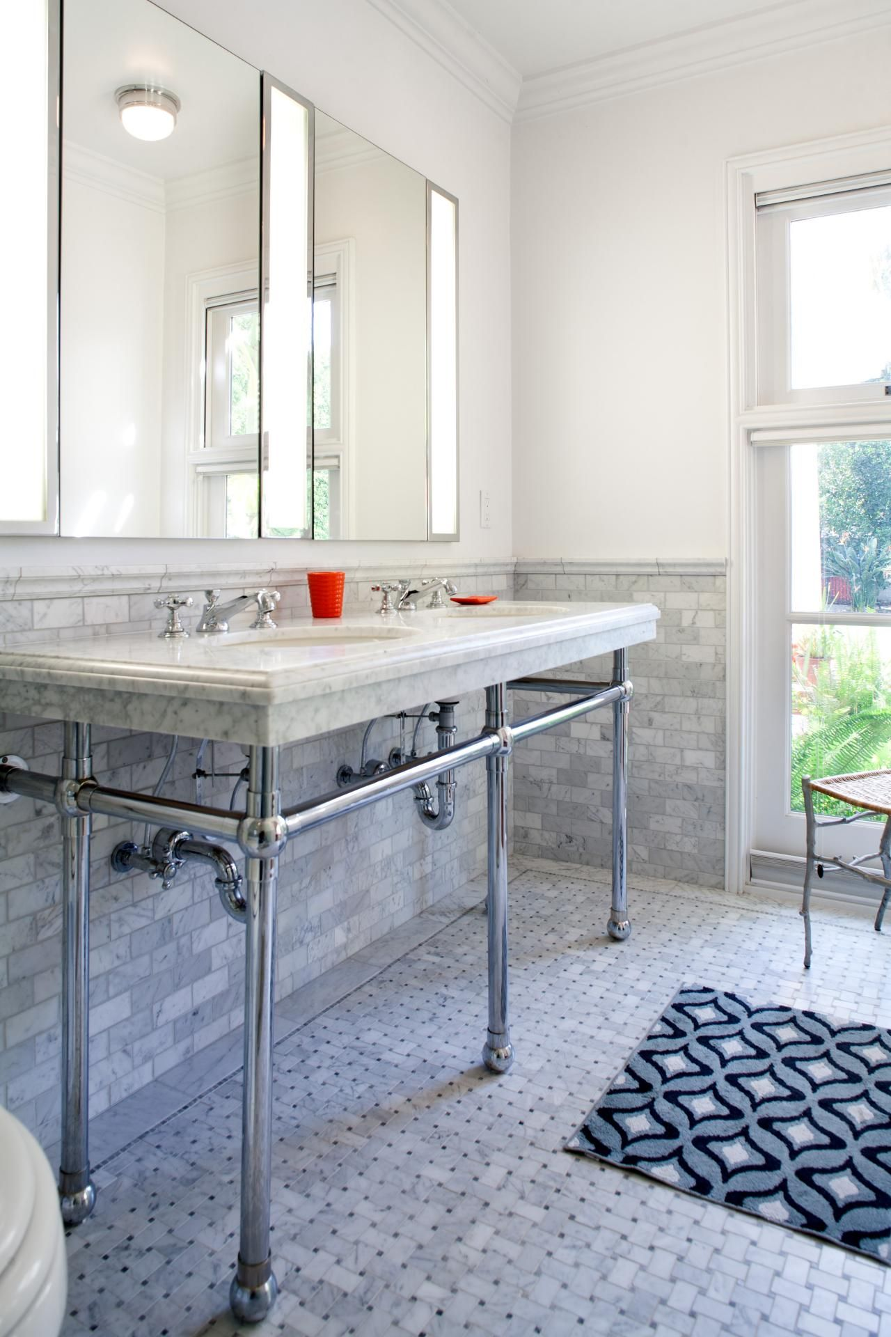 A 10 Year Remodel With Lofty Goal Bathrooms Pinterest Medicine