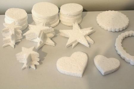 Risultati immagini per vaschette polistirolo riciclo creativo