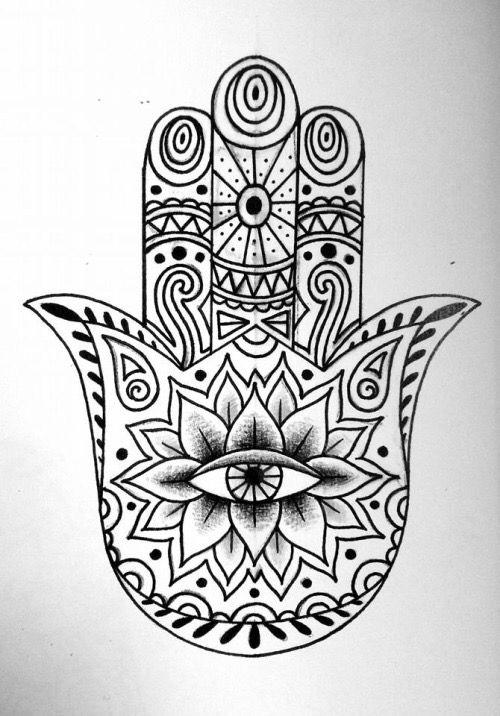Pin By Wendy Bader On Hamsa Tats Hamsa Hand Art Evil Eye Art Hand Art