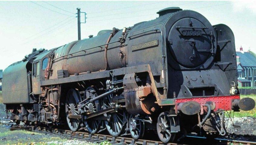 71000 'Duke of Gloucester'  A Standard BR Class 8, 4-6-2