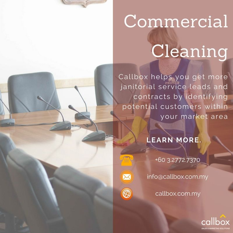 Callbox malaysia commercial cleaning janitorial