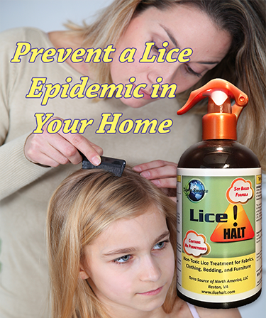 Lice Halt is available in a 16 oz. RTU (Ready To Use