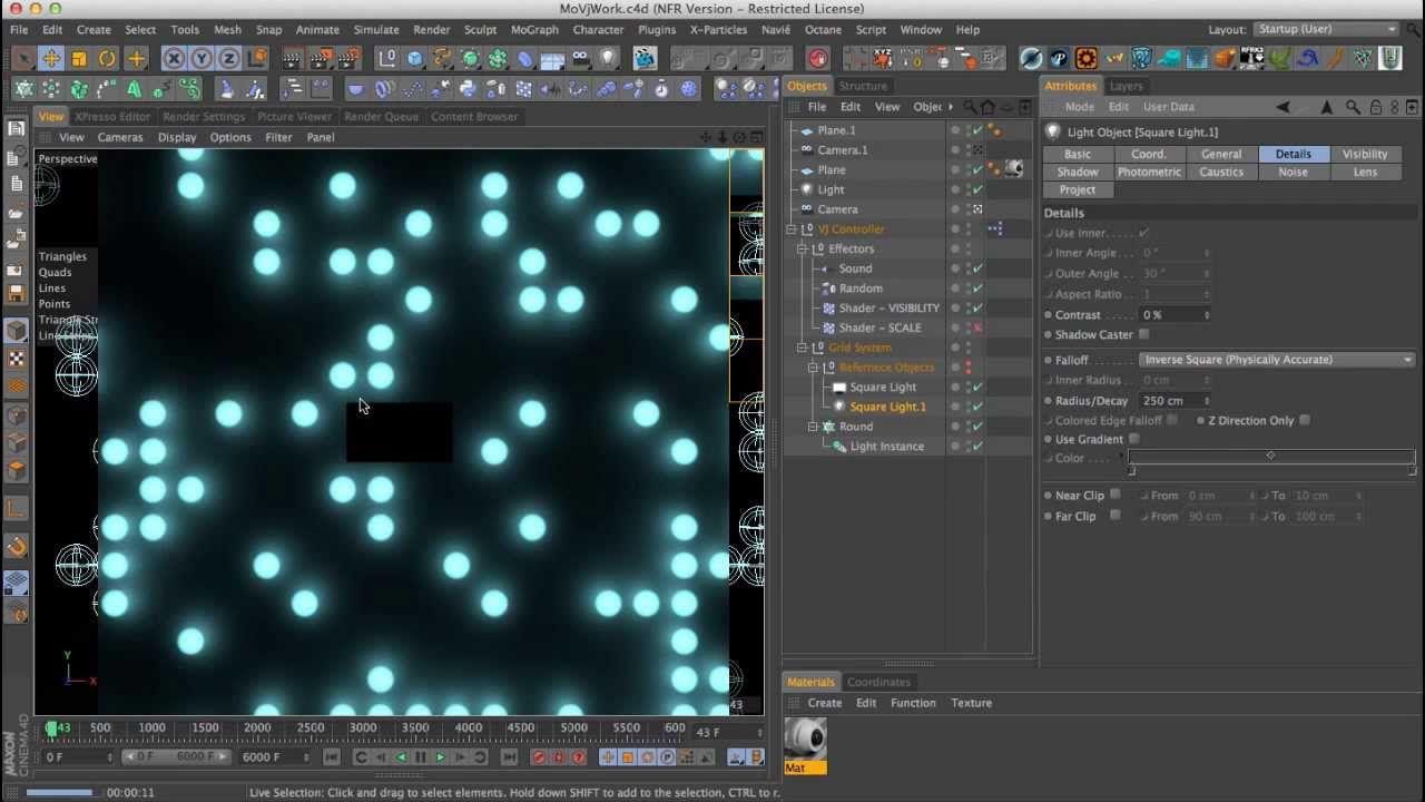 Cinema 4D Mograph Texture Xpresso Tutorial HD #Cinema 4D, #C4D,#modeling,#tutorial