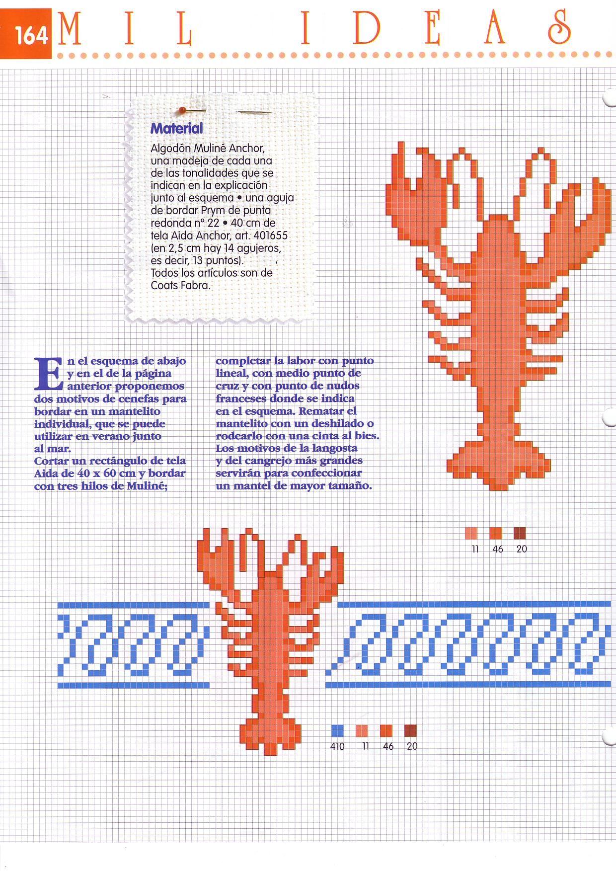Pin de Paloma Marin en playa punto de cruz | Pinterest | Cenefas ...