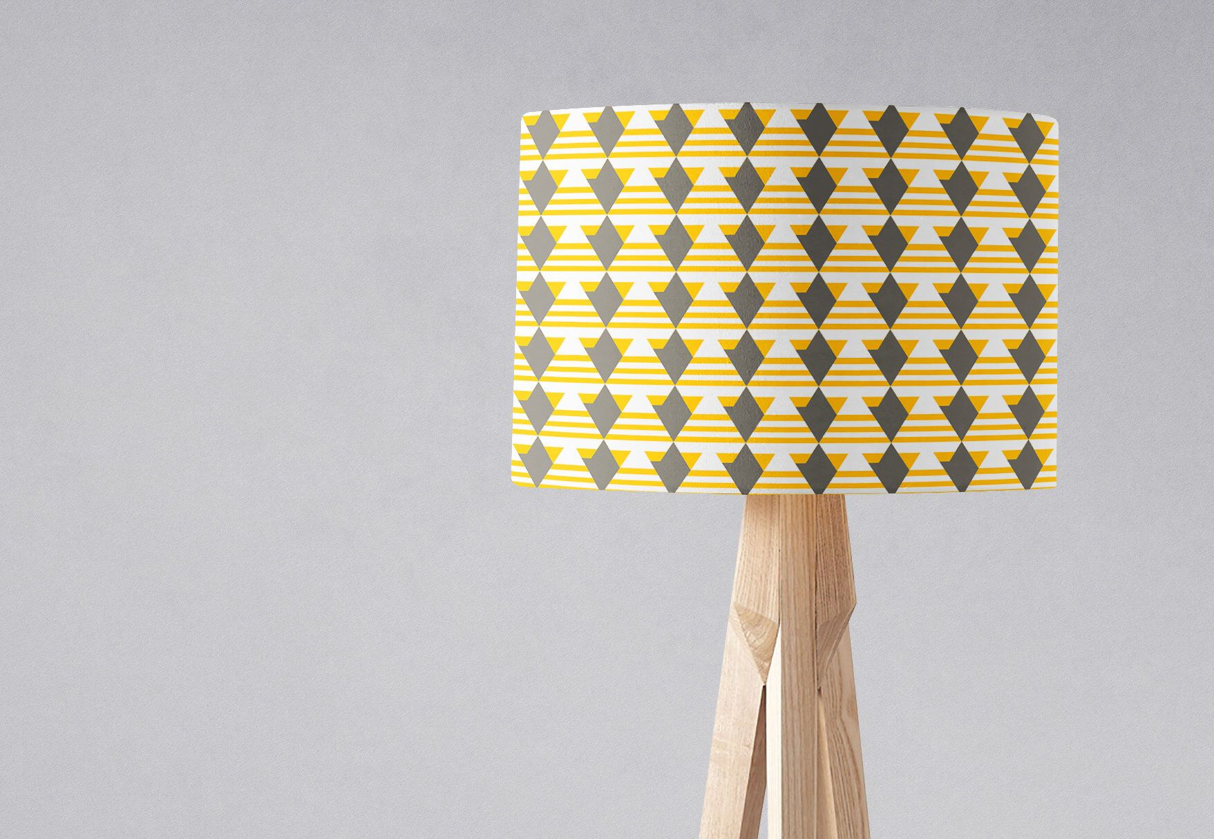 Yellow Nursery, Grey Yellow Lamp Shades, Grey Lampshade, Grey Lemon