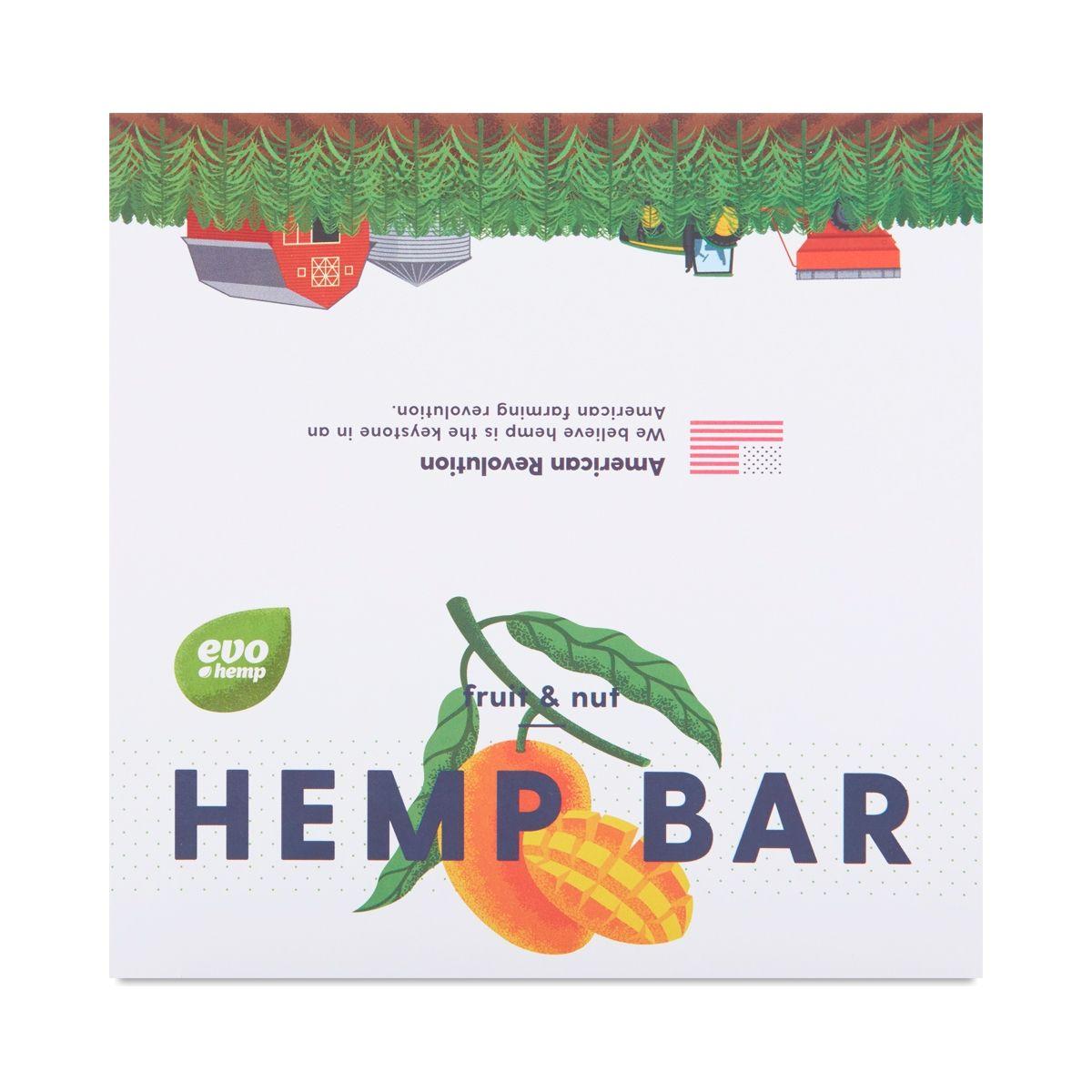 Evo hemp mango macadamia energy bar energy bars
