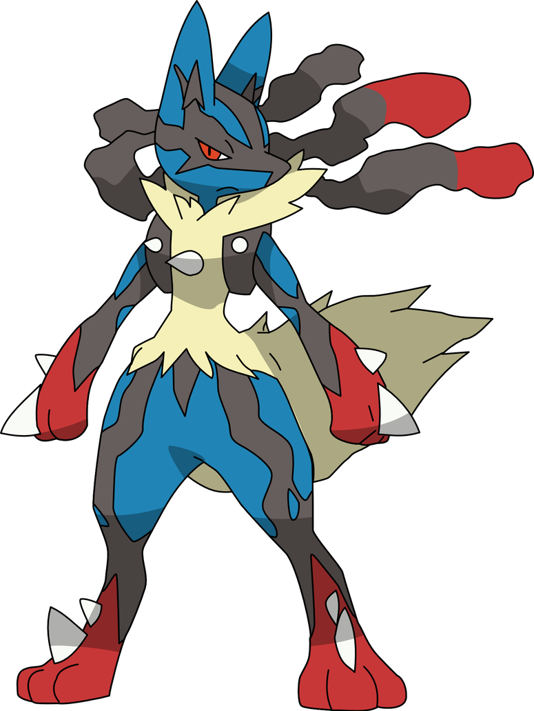 448 Mega Lucario By Https Www Deviantart Com Pklucario On