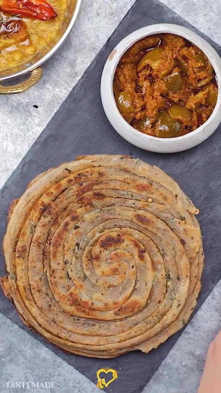 lachha paratha lachha paratha is a multi layered shallow fried north indian flatbread and the on hebbar s kitchen dinner recipes id=15062
