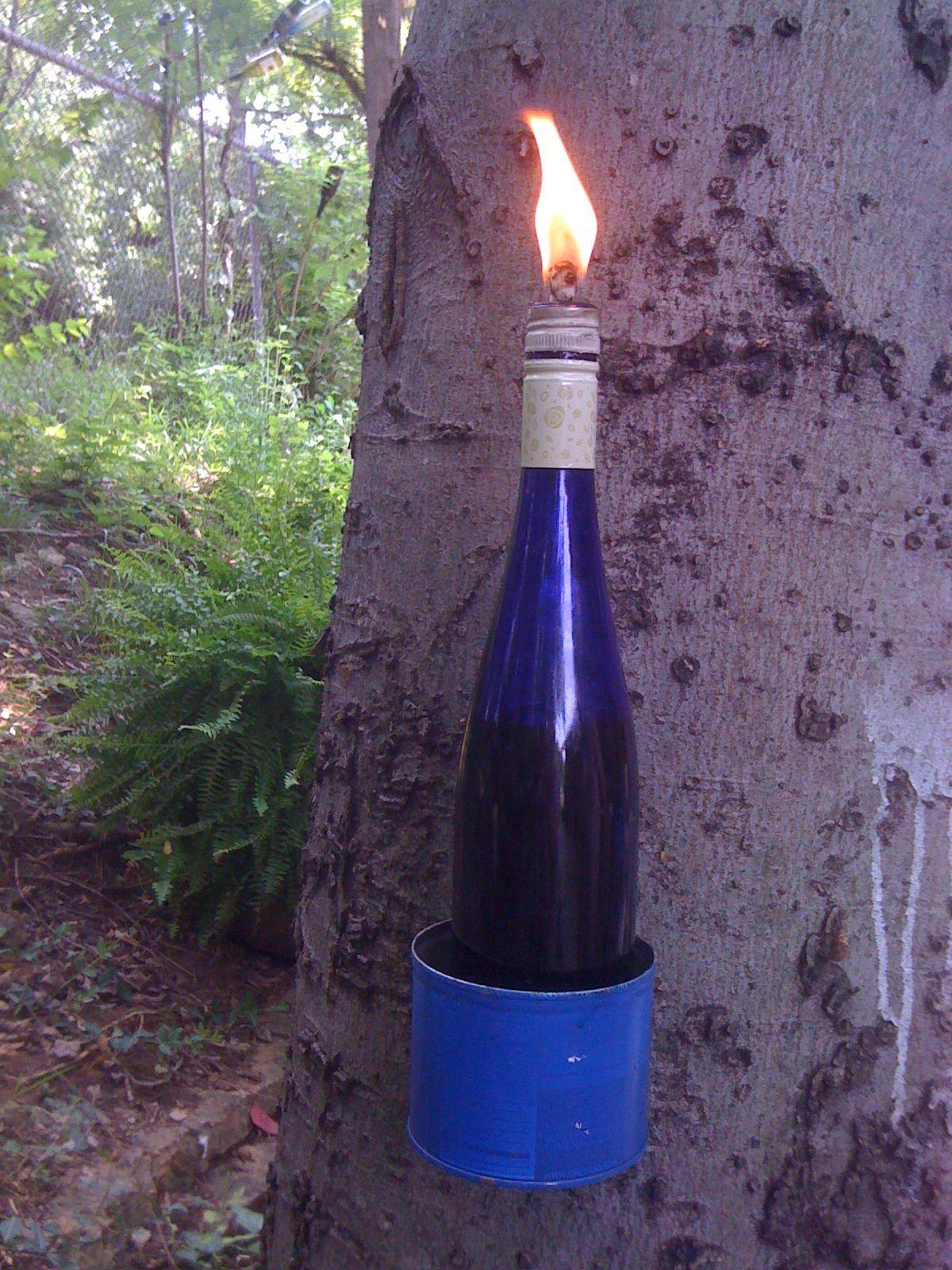 DIY tiki torch