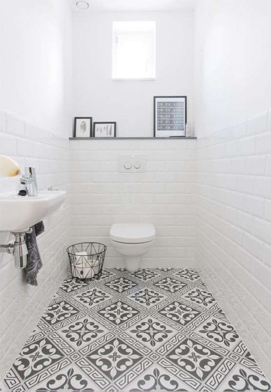 Excite Your Site visitors with These 30 Cute Half-Bathroom Styles