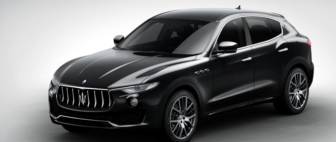 Maserati Levante Suv Black