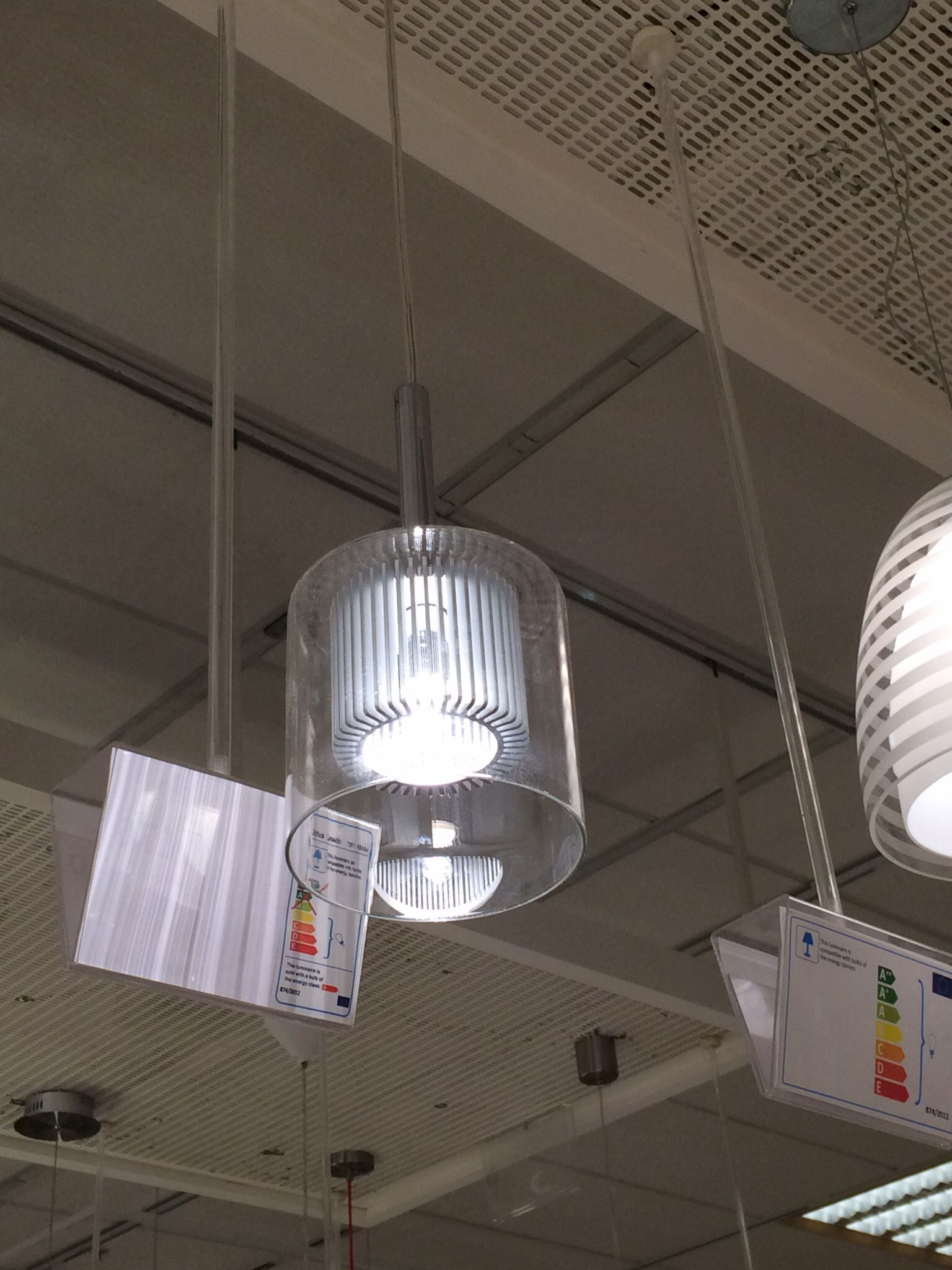 John Lewis light - another pic