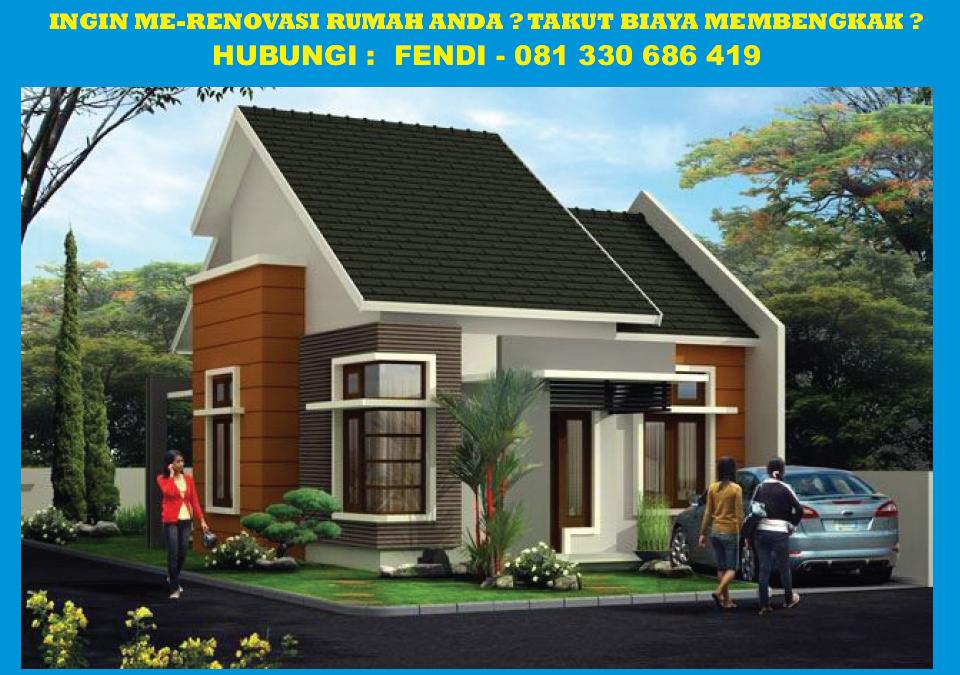 Design Rumah Renovasi Rumah Type   Renovasi Rumah Holcim Bangun Rumah Murah