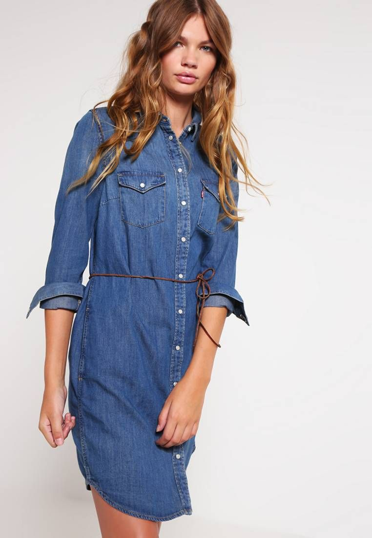 hot sale online 5171e cb27c ICONIC - Vestito di jeans - san francisco @ Zalando.it ...